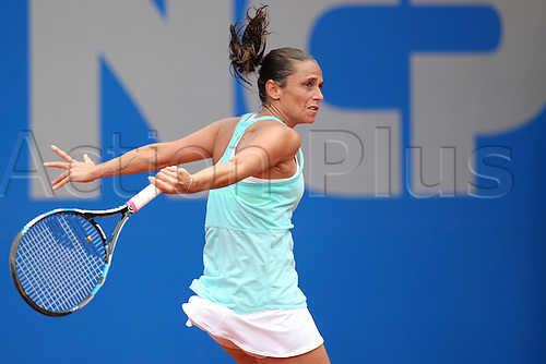 21.05.2015. Nuremberg, Germany. WTA Nuremberg Open tournament.  Roberta Vinci of Italy in action during the quarter finals match against Nara of Japan in Nuremberg, Germany, 21 May 2015.