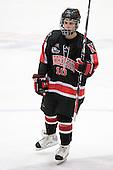 Autumn Prouty (NU - 10) - The Harvard University Crimson defeated the Northeastern University Huskies 1-0 to win the 2010 Beanpot on Tuesday, February 9, 2010, at the Bright Hockey Center in Cambridge, Massachusetts.