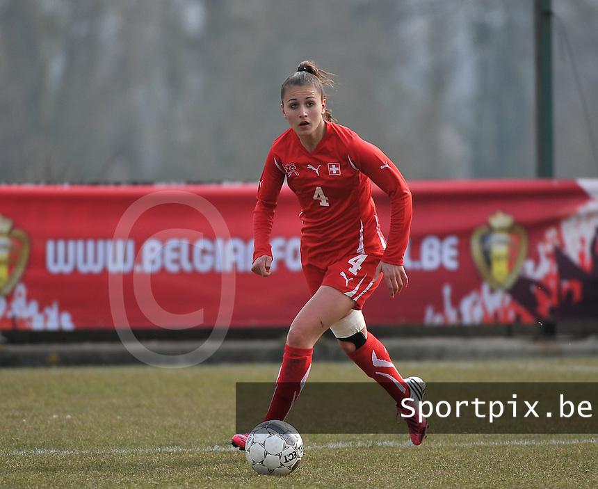 Switzerland U19 - Russia U19 : Francesca Calo.foto DAVID CATRY / Nikonpro.be