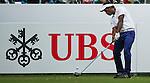 Siddikur Rahman of Bangladesh hits the ball during Hong Kong Open golf tournament at the Fanling golf course on 25 October 2015 in Hong Kong, China. Photo by Aitor Alcade / Power Sport Images