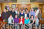 BIRTHDAY GREETINGS: Kathleen Hurley Maher, Railway Terrace, Tralee (seated centre) had a great night with family, friends and neighbours, celebrating her birthday last Saturday night in Stoker's Lodge, Tralee.