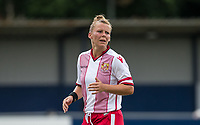 Emma Marshall of Stevenage Ladies during the pre season friendly match between Stevenage Ladies FC and Watford Ladies at The County Ground, Letchworth Garden City, England on 16 July 2017. Photo by Andy Rowland / PRiME Media Images.