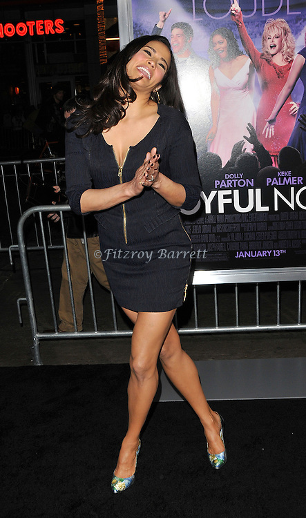 Paula Patton at the premiere of Joyful Noise held at Grauman's  Chinese Theatre in Hollywood, CA. January 9, 2012