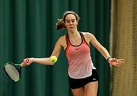 Wateringen, The Netherlands, March 14, 2018,  De Rhijenhof , NOJK 14/18 years, Emily Van Der Werf (NED)<br /> Photo: www.tennisimages.com/Henk Koster