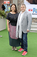 """LOS ANGELES - JUN 2:  Meredith Salenger, Patton Oswalt at the """"The Secret Life of Pets 2"""" Premiere at the Village Theater on June 2, 2019 in Westwood, CA"""