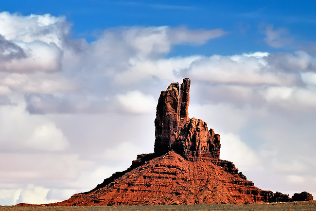 Big Indian Butte in Monument Valley, UT