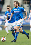 Raith Rovers v St Johnstone....08.03.14    Scottish Cup Quarter Final<br /> Stevie May<br /> Picture by Graeme Hart.<br /> Copyright Perthshire Picture Agency<br /> Tel: 01738 623350  Mobile: 07990 594431