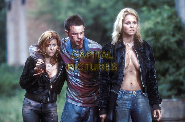 Judit Viktor, Danny Dyer and Juli Drajko<br /> in Severance (2006) <br /> *Filmstill - Editorial Use Only*<br /> CAP/NFS<br /> Image supplied by Capital Pictures