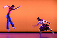 Richard Alston Dance Company<br /> dance Gypsy Mixture as part of the Richard Alston Dance Company's performance at Sadler's Wells, London. <br /> <br /> <br /> &copy;Ash Knotek  D3282  16/06/2017