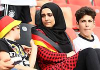 Fans leben Integration vor - 08.06.2018: Deutschland vs. Saudi-Arabien, Freundschaftsspiel, BayArena Leverkusen