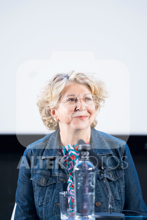 Film productor Esther Garcia during the announcement of 'Dolor y Gloria' will be candidate to the Oscar Awards. September 05, 2019. (ALTERPHOTOS/Francis González)