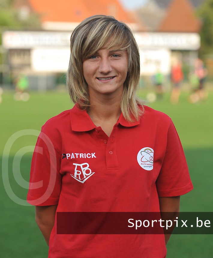 SV Dames Zulte Waregem : Elodie Branquart.foto DAVID CATRY / Vrouwenteam.be
