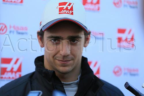 02.03.2016. Barcelona, Spain. Formula 1 winter car testing at Circuit de Barcelona Catalunya Test 2 Day 2.  Haas F1 Team - Esteban Gutierrez
