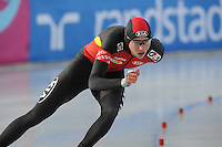 SCHAATSEN: BOEDAPEST: Essent ISU European Championships, 08-01-2012, 1500m Men, Bart Swings BEL, ©foto Martin de Jong