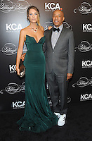 NEW YORK, NY - OCTOBER 19:  Russell Simmons and Genevieve Barker attend Keep A Child Alive's Black Ball 2016 at Hammerstein Ballroom on October 19, 2016 in New York City. Photo by John Palmer/MediaPunch