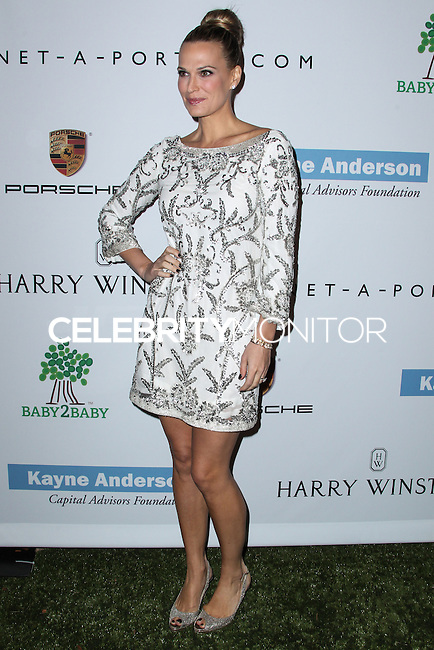 CULVER CITY, CA - NOVEMBER 09: Model Molly Sims arrives at the 2nd Annual Baby2Baby Gala held at The Book Bindery on November 9, 2013 in Culver City, California. (Photo by Xavier Collin/Celebrity Monitor)