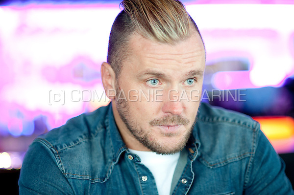 Former Belgian football player Philippe Leonard (Belgium, 22/10/2015)