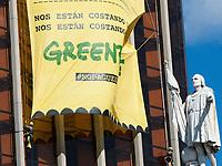 2019 04 11 Greenpeace in Madrid