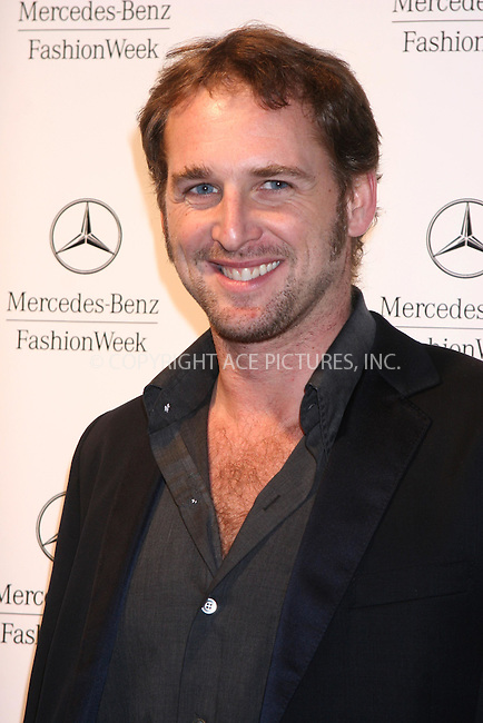 WWW.ACEPIXS.COM . . .  ....February 1, 2007. New York City.....Josh Lucas attends the Mercedes-Benz Fashion Week Fall 2007 Kick Off Party at The Box.......Please byline: JOHN WARD - ACEPIXS.COM......Ace Pictures, Inc:  ..(212) 243-8787 or 646 769 0430..e-mail: info@acepixs.com..web: http://www.acepixs.com