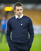 5th February 2019, Molineux Stadium, Wolverhampton, England; FA Cup football, 4th round replay, Wolverhampton Wanderers versus Shrewsbury Town; Shrewsbury Town Manager Samuel Ricketts inspecting the pitch before the match