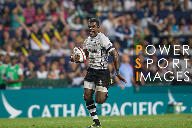 Fiji vs New Zealand during the HSBC Sevens Wold Series Cup Final match as part of the Cathay Pacific / HSBC Hong Kong Sevens at the Hong Kong Stadium on 29 March 2015 in Hong Kong, China. Photo by Manuel Bruque / Power Sport Images