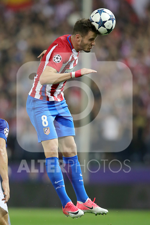Atletico de Madrid's Saul Niguez during Champions League 2016/2017 Quarter-finals 1st leg match. April 12,2017. (ALTERPHOTOS/Acero)