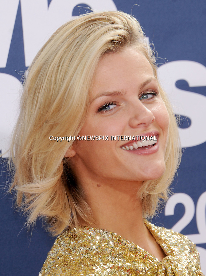 """BROOKLYN DECKER.attends the 2011 MTV Movie Awards at the Gibson Amphitheatre on June 5, 2011 in Universal City, California.Mandatory Photo Credit: ©Crosby/Newspix International. .**ALL FEES PAYABLE TO: """"NEWSPIX INTERNATIONAL""""**..PHOTO CREDIT MANDATORY!!: NEWSPIX INTERNATIONAL(Failure to credit will incur a surcharge of 100% of reproduction fees)..IMMEDIATE CONFIRMATION OF USAGE REQUIRED:.Newspix International, 31 Chinnery Hill, Bishop's Stortford, ENGLAND CM23 3PS.Tel:+441279 324672  ; Fax: +441279656877.Mobile:  0777568 1153.e-mail: info@newspixinternational.co.uk"""