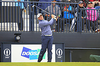 James Sugrue (IRL)(AM) on the 13th during the preview of the the 148th Open Championship, Portrush golf club, Portrush, Antrim, Northern Ireland. 17/07/2019.<br /> Picture Thos Caffrey / Golffile.ie<br /> <br /> All photo usage must carry mandatory copyright credit (© Golffile | Thos Caffrey)