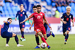 Sami Mohamed Alhusaini of Bahrain in action during the AFC Asian Cup UAE 2019 Group A match between Bahrain (BHR) and Thailand (THA) at Al Maktoum Stadium on 10 January 2019 in Dubai, United Arab Emirates. Photo by Marcio Rodrigo Machado / Power Sport Images