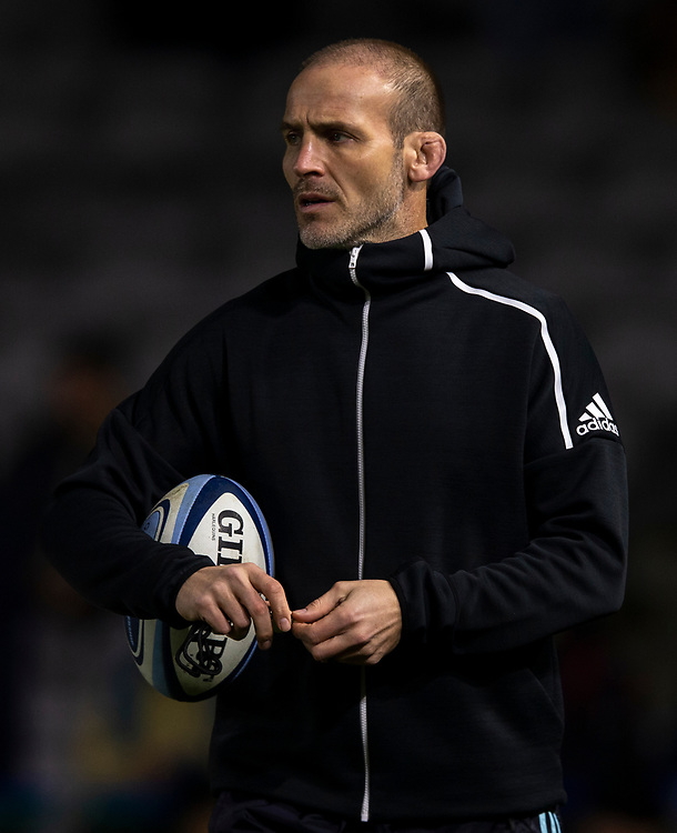 Harlequins' Head Coach Paul Gustard<br /> <br /> Photographer Bob Bradford/CameraSport<br /> <br /> Gallagher Premiership Round 9 - Harlequins v Exeter Chiefs - Friday 30th November 2018 - Twickenham Stoop - London<br /> <br /> World Copyright &copy; 2018 CameraSport. All rights reserved. 43 Linden Ave. Countesthorpe. Leicester. England. LE8 5PG - Tel: +44 (0) 116 277 4147 - admin@camerasport.com - www.camerasport.com