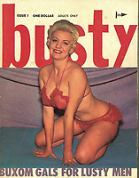 BNPS.co.uk (01202 558833)<br /> Pic: BTWAuctions/BNPS<br /> <br /> The collection includes an interesting 'Busty' magazine<br />  <br /> One man's 50 year collection of vintage adult magazines is tipped to sell for £40,000.<br /> <br /> The huge stash of erotic literature was found neatly stored in dozens of indexed box files by a stunned auctioneer called to value an unusual collection.<br /> <br /> The glamour magazines, books and photographs date as far back at the 1950s and are mostly in immaculate condition.<br /> <br /> Many of the magazines, that include titles such as Playboy, Mayfair Penthouse and Hustler, are still in their original envelopes from where they had been posted.