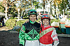 Irwin Rosendo & Brian Pedroza at Delaware Park on 11/1/10