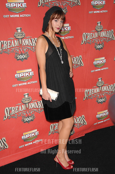 MARY ELIZABETH WINSTEAD at the Spike TV Scream Awards 2006 at the Pantages Theatre, Hollywood..October 7, 2006  Los Angeles, CA.Picture: Paul Smith / Featureflash