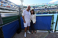 DELRAY BEACH, FL - NOVEMBER 05: Dr. Phil McGraw, Robin McGraw participates in the 28th Annual Chris Evert/Raymond James Pro-Celebrity Tennis Classic at Delray Beach Tennis Center on November 5, 2017 in Delray Beach, Florida<br /> CAP/MPI/HOO<br /> &copy;HOO/MPI/Capital Pictures