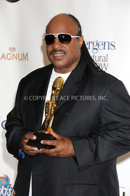 WWW.ACEPIXS.COM . . . . .  ..... . . . . US SALES ONLY . . . . .....May 20 2012, Las Vegas....Stevie Wonder at the 2012 Billboard Awards held at the MGM Hotel and Casino in on May 20 2012 in Las Vegas ....Please byline: FAMOUS-ACE PICTURES... . . . .  ....Ace Pictures, Inc:  ..Tel: (212) 243-8787..e-mail: info@acepixs.com..web: http://www.acepixs.com