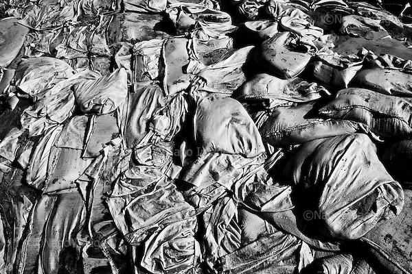 Sandomierz 09 June 2010 Poland<br /> On Wednesday, 18 May 2010 on the River Vistula river water reached its highest level in the history of the region. The Flood broke 6:40 in the Kocmierzowie. Water flooded the residential portion of Sandomierz, and almost the entire county<br /> (Photo by Filip Cwik / Newsweek Poland / Napo Images)<br /> <br /> Sandomierz 09 czerwiec 2010 Polska<br /> W srode 18 maja 2010 roku woda na rzece Wisle osiagnela najwyzszy poziom w historii tego regionu. O 6:40 pekl wal przeciwpowodziowy w Kocmierzowie. Woda zalala czesc mieszkalna Sandomierza oraz niemal caly powiat Tarnobrzeski <br /> (fot. Filip Cwik / Newsweek Polska / Napo Images)