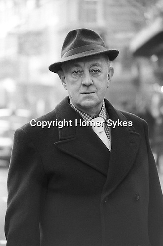 Sir Alec Guinness London UK 1977.