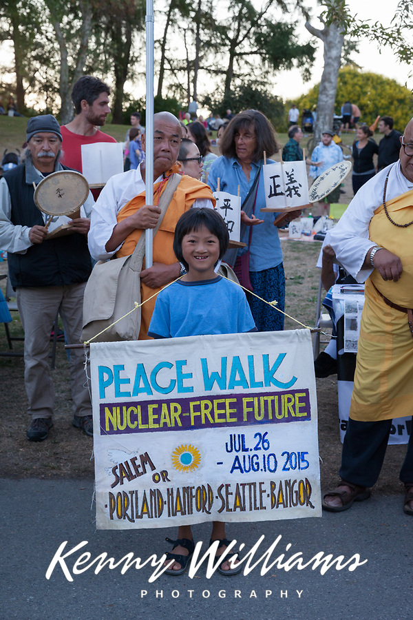 From Hiroshima to Hope 2015, Seattle, Washington State, WA.
