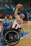 Canada plays Sweden in men's wheelchair basketball action at the Paralympic Games in Beijing,Tuesday, Sept., 9, 2008. THE CANADIAN PRESS  CPC/Mike Ridewood