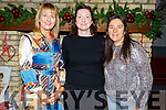 Enjoying the Annual Connect Kerry Ladies Luncheon and Fashion Afternoon in the Ashe Hotel on Sunday.<br /> Claire Molloy (Tralee), Janette Geity (Barrow) and Nora Butler (Castleisland)