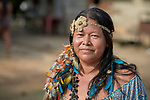 Anacelia Barros da Costa is a leader of the Nacoes Indigenas neighborhood in Manaus, Brazil. The neighborhood is home to members of more than a dozen indigenous groups, many of whose members have migrated to the city in recent years from their homes in the Amazon forest.