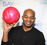 Brandon Victor Dixon during the 8th Annual Paul Rudd All-Star Benefit for SAY at Lucky Strike Lanes  on November 11, 2019 in New York City.
