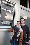 "One Life To Live and Guiding Light Fiona Hutchison poses with Kristos Andrews - both were in the film - ""The Southside"".  They pose at The private Industry Screening of ""The Southside"", A Lany Film Tribute to Robert Areizaga, Jr. on February 27, 2012 at Tribeca Cinemas, New York City, New York.  (Photo by Sue Coflin/Max Photos)"
