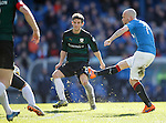 Nicky Law lashes in his second goal to complete a 4-0 rout of Raith