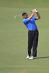 Dubai World Championship Golf. Earth Course,.Jumeirah Golf Estate, Dubai, U.A.E...Retief Goosen shooting into the 5th during the third round of the Dubai World Golf championship..Photo: Fran Caffrey/www.golffile.ie...