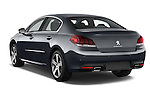 Car pictures of rear three quarter view of a 2015 Peugeot 508 GT 4 Door Sedan 2WD Angular Rear