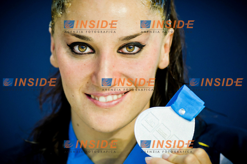 Andrea Fuentes (ESP) silver medal..European Synchronised Swimming Championships Eindhoven 2012..Solo Free Routine - Finals ..Eindhoven (Netherlands), 26/05/2012, Pieter Van Den Hoogenband Swimming Stadium..ph. Giorgio Perottino / Deepbluemedia