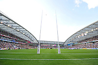 A general view of the Brighton Community Stadium. Rugby World Cup Pool B match between South Africa and Japan on September 19, 2015 at the Brighton Community Stadium in Brighton, England. Photo by: Patrick Khachfe / Onside Images