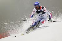 ZAGREB, CROACIA, 06 JANEIRO 2013 - COPA DO MUNDO DE ESQUI ALPINO - O competidor Jean-Baptiste Grange da Franca durante a competicao de Slalom Gigante para homens durante a Copa do Mundo de Esqui Alpino em Zagreb na Croacia, neste domingo, 06/01/2013. (FOTO: PIXATHLON / BRAZIL PHOTO PRESS).