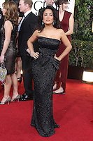BEVERLY HILLS, CA - JANUARY 13: Salma Hayek at the 70th Annual Golden Globe Awards at the Beverly Hills Hilton Hotel in Beverly Hills, California. January 13, 2013. Credit: mpi29/MediaPunch Inc. /NortePhoto